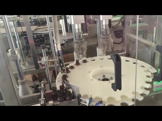 قیمت کارخانه دستگاه دربندی اتوماتیک با سرعت بالا برای درپوش بطری دوار