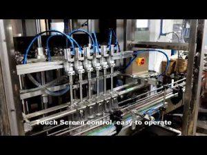 اتوماتیک 6 سر توزیع کننده خط دستگاه پر کننده مایع کلر شوینده