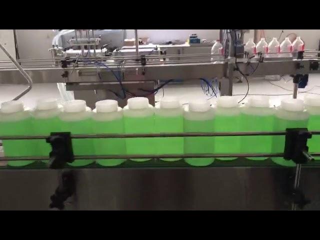 دستگاه سفید کننده اتوماتیک پر کننده اتوماتیک