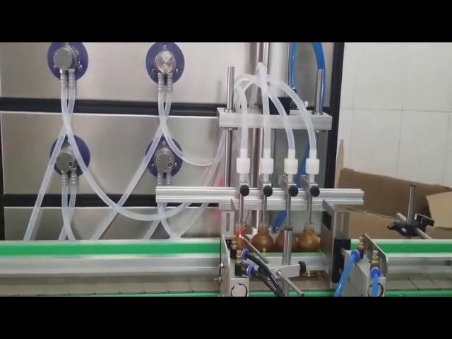 دستگاه پر کننده لوازم آرایشی و بهداشتی 10ml 30ml 60ml 100ml برای مایعات