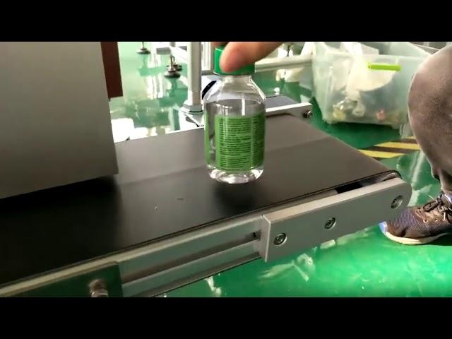 دستگاه برچسب دسکتاپ برای بطری های پلاستیکی آب