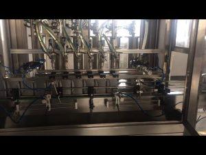 دستگاه پر کننده بطری روغن موتور 5l با دقت بالا