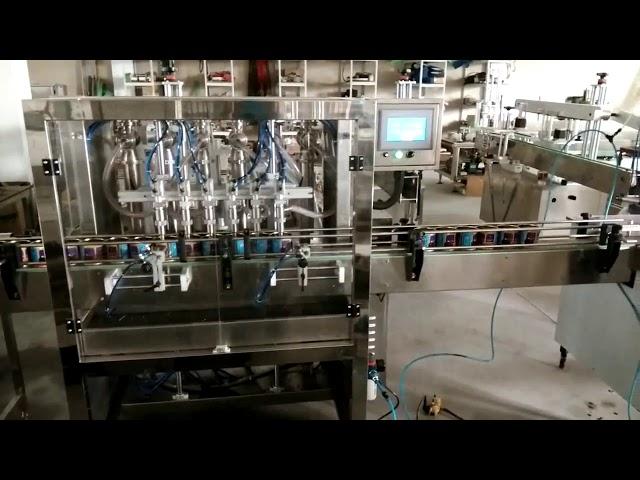 دستگاه پر کننده خودکار کره بادام زمینی