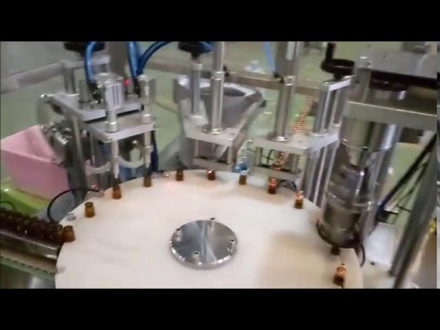 دستگاه بسته شدن بطری 10 میلی لیتری اتوماتیک e مایعات