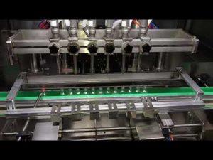 دستگاه پر کننده خودکار ژل ضد عفونی کننده الکل برای صنایع شیمیایی روزانه