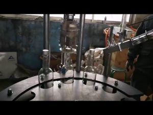 دستگاه دربندی و درزگیری درب کلاه آلومینیومی اتوماتیک تجاری