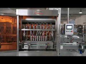دستگاه پر کننده سس گوجه فرنگی کامل اتوماتیک