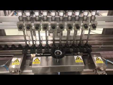دستگاه پر کننده خطی کرم مشروبات الکلی مایع ، پرکننده روغن بطری کوچک شیشه عسل