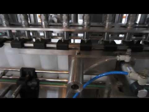 دستگاه پر کننده مایع شوینده و ضد عفونی کننده مایع