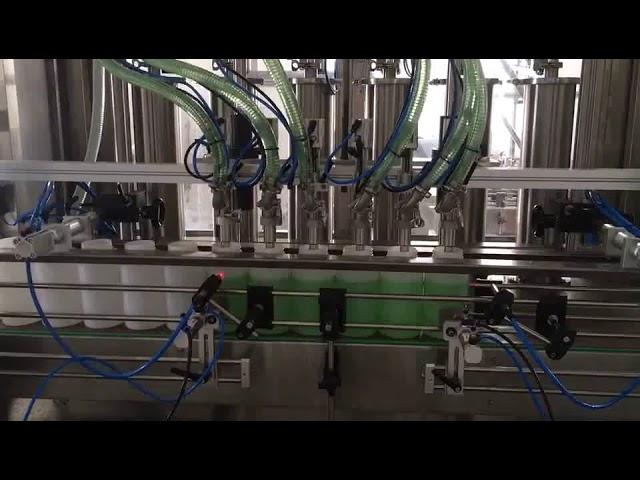 دستگاه پر کردن بطری صابون مایع پیستونی