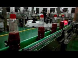 دستگاه پر کننده بطری اتوماتیک پر سرعت برای سس گوجه فرنگی ، مربا ، سس