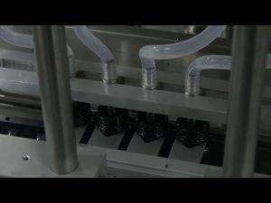 دستگاه پر کننده مایع دقیق دسکتاپ 10ml-5l 6 head