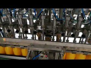 دستگاه پر کننده بطری های اتوماتیک 12 سر برای لوازم آرایشی و بهداشتی روغن سس روغن سس