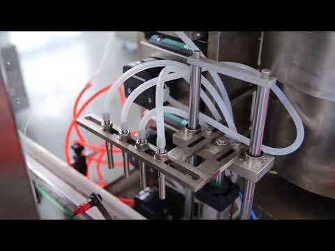 دستگاه بتونی کامل بطری ناخن اتوماتیک دستگاه پر کننده روغن شاهدانه cbd برای فروش