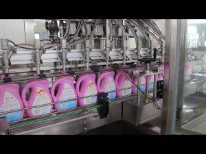 روغن خوراکی اتوماتیک ، روغن زیتون ، دستگاه پر کننده بطری شامپو بطری مواد شوینده