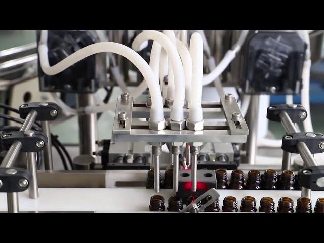 دستگاه پر کردن و بسته بندی شستشوی روغن زیتون 120 میلی لیتری